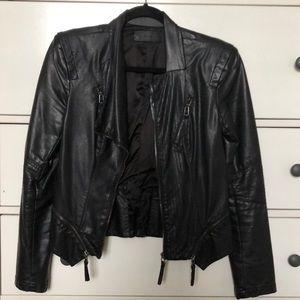 Vegan leather jacket!